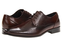 Stacy Adams Atwell Brown Leather Men's Plain Toe Shoes