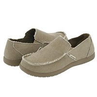 Crocs Santa Cruz Khaki Khaki Men's Slip On Shoes