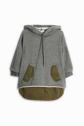 3.1 Phillip Lim Sweatshirt With Shirt Detail Khaki