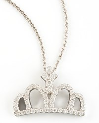 Diamond Crown Necklace Roberto Coin Red