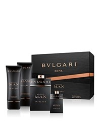 Bulgari Bvlgari Man In Black Eau De Parfum 4 Piece Gift Set No Color