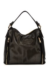 Steve Madden Patssy Faux Leather Hobo Bag Black