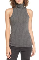 Women's Bp. Rib Knit Turtleneck Tank