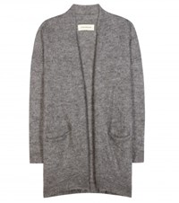 By Malene Birger Dissania Mohair Blend Open Cardigan Grey