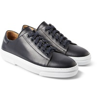 A.P.C. Rubber Soled Leather Sneakers