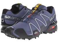 Salomon Speedcross 3 Slateblue Black Deep Blue Men's Running Shoes