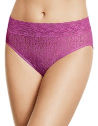 Wacoal Halo Lace Hi Cut Bikini Bottom Wild Aster
