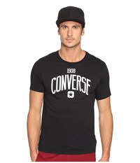 Converse Athletic Graphic Tee Black Men's T Shirt