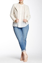 Kut From The Kloth Emma Straight Leg Ankle Jean Plus Size Blue