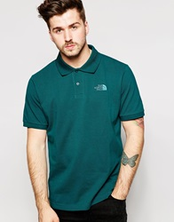 The North Face Polo Shirt With Logo Green