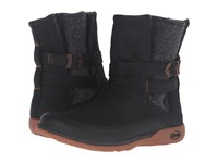 Chaco Hopi Black Women's Pull On Boots
