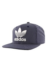 Adidas Men's Originals 'Trefoil Plus' Snapback Cap Blue Collegiate Navy White