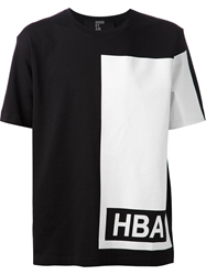 Hood By Air 'Illusion' Block T Shirt Black