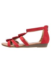 Refresh Wedge Sandals Rojo Red