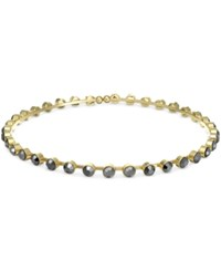 Bar Iii Gold Tone Crystal Stone Choker Necklace Only At Macy's