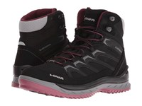 Lowa Innox Ice Gtx Mid Black Berry Women's Boots Purple