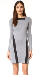 Y 3 Double Knit Dress Medium Heather Grey Black