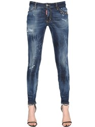 Dsquared Skinny Piercing Medium Waist Denim Jeans