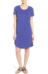 Women's Matty M Crewneck T Shirt Dress Royal