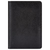 Jaeger Leather Card Holder Black