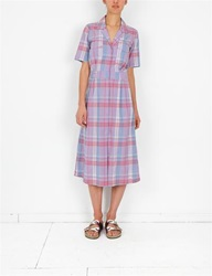 Creatures Of Comfort Misch Dress Madras Violet