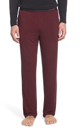 Men's Naked Stretch Lounge Pants Zinfandel Basketweave