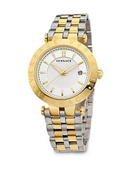 Versace Stainless Steel Bracelet Watch Gold