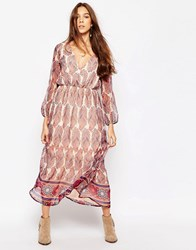 Diya Maxi Dress In Paisley Print Multi