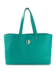 Versace Collection Shopping Tote Green