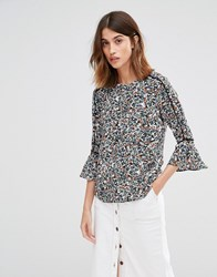 Warehouse Ditsy Floral Tee Multi