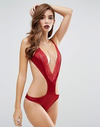 Coco De Mer 50 Shades Darker Collection Red Room Body Bordeaux Red