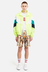 Gosha Rubchinskiy Combo Fabric Sport Jacket Neon Base Mix