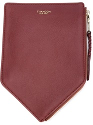 Thakoon 'Bombay' Pouch Red