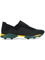 Marni Wool Felt Low Top Sneakers Black