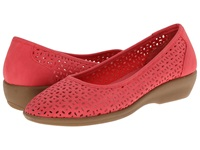 Bass Broadway Coral Nubuck Women's Sandals Red