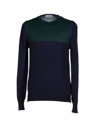 Lo Not Equal Knitwear Jumpers Men Dark Blue