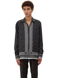Fendi Printed Pyjama Shirt Black