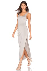 Charli Tovi Tank Maxi Dress Gray