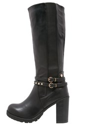 Xti High Heeled Boots Black