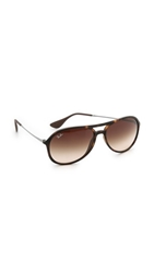 Ray Ban Youngster Rubber Aviator Sunglasses Havana