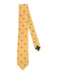 Tombolini Accessories Ties Men Yellow