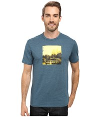 Merrell Half Dome Tee Blue Spruce Men's T Shirt Olive