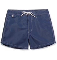 Sundek Rainbow Short Length Swim Shorts Navy