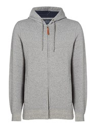 Criminal Men's Jude Brushed Back Hoodie Grey Marl