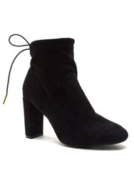 Qupid York Ankle Boot Black