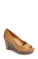 Women's Trask 'Reina' Wedge Pump Natural