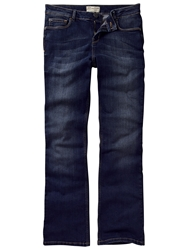 Fat Face Smithy Bootcut Darkest Rinse Jeans Denim