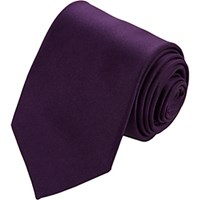 Drakes Drake's Men's Satin Neck Tie Purple