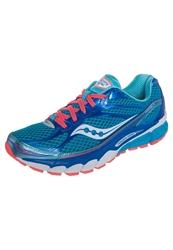 Saucony Ride 7 Cushioned Running Shoes Blue Vizicoral