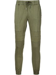 Stampd Moto Chino Trousers Green